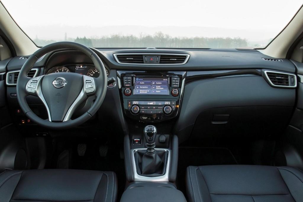 nieuwe auto: interieur Nissan Qashqai
